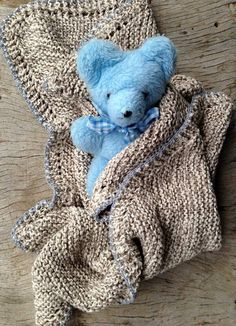 Graphic design and crafts such as knit and crochet. Baby Knitting, Knitted Baby, Knit Crochet, Teddy Bears, Toys, Crocheting, How To Make, Blog, Handmade