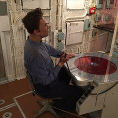 Inside the HMS Belfast...Sonar/radar station...