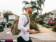 One Day on the Road with Sam Hunt | WALK THAT WALK | Country singer Sam Hunt is on the move in L.A. on Jan. 29, heading to the opening night of the Lipstick Graffiti tour, his first headlining tour, at the famed Troubadour club.