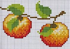 quilting like crazy 123 Cross Stitch, Cross Stitch Fruit, Cross Stitch Kitchen, Cross Stitch Cards, Cross Stitch Flowers, Cross Stitch Designs, Cross Stitching, Cross Stitch Patterns, Hand Embroidery Stitches