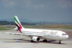 Emirates may now be one of the world's biggest airlines and an aviation juggernaut, but it sprung from… Emirates Fleet, Emirates Airbus, Emirates Airline, Airbus A380, Onur Air, Pakistan International Airlines, Used Aircraft, Air One, Fly Around The World