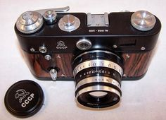 Vintage Soviet Film Camera FED 3 Limited edition USSR the 1960s | from RarityFromAfar