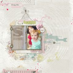 #papercraft #scrapbook #layout  sweet duo by MelissaHill2014 @2peasinabucket