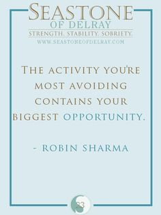 The activity you're most avoiding contains your biggest opportunity.