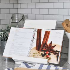 With the ability for fold down flat, this recipe stand makes reading recipes easy and functional. Diy Book Stand, Wooden Book Stand, Cook Book Stand, Wooden Books, Charger Plates, Plate Chargers, Recipe Book Holders, Food Stands, Diy Room Decor