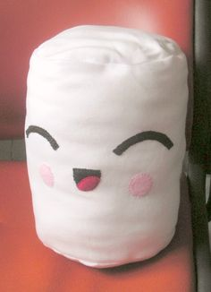 kawaii plushies | Happy Kawaii Marshmallow Plushie by RiyahLiDesigns on Etsy