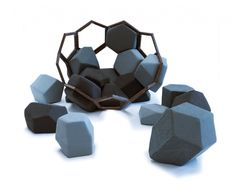 Pieces Playful Pentagons and Hexagons: The Modular Quartz Armchair. Quartz is modular piece of furniture, a collaboration project between CTROL ZAK and Davide Barzaghi. Small Bedroom Furniture, Sofa Furniture, Cheap Furniture, Furniture Design, Geometric Shapes, Modular Design, Small Bedrooms, Sign Design, Cool Inventions