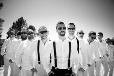 Swanky groomsmen | Outdoor Jewish wedding in Cape Town, South Africa | Smashing the Glass Jewish wedding blog