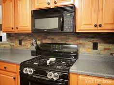kitchen backsplash - Google Search · Honey Oak Kitchen CabinetsBacksplash  ...