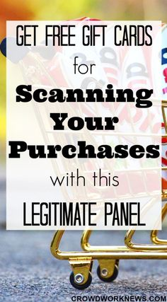 Do you know that you can make some extra cash scanning your groceries? Here is a review about this legitimate panel which helps you to earn free gift cards by scanning your purchases.