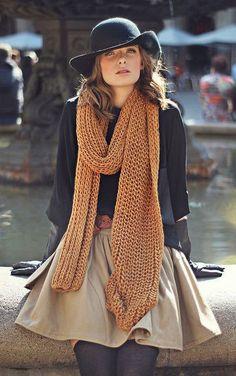 #fall #fashion / cozy chic