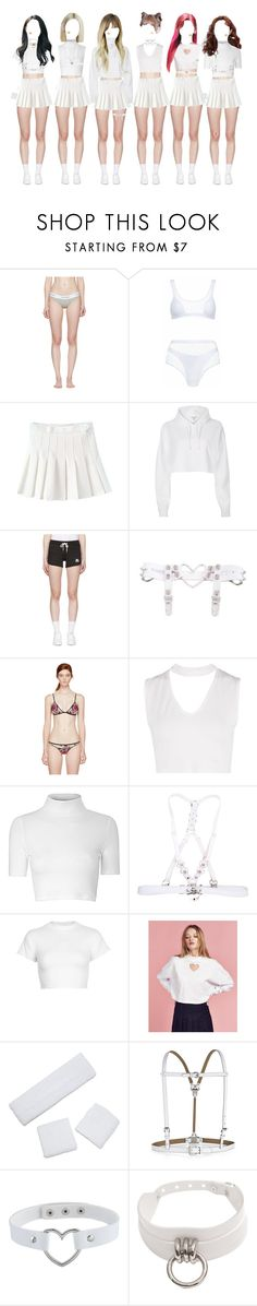 """DEVIL PURE_Debut Stage_Love Sick"" by l-x-ily ❤ liked on Polyvore featuring Calvin Klein Underwear, Agent Provocateur, River Island, Kappa, Fleur du Mal, Boohoo, Glamorous, Motel, Lazy Oaf and BCBGMAXAZRIA"