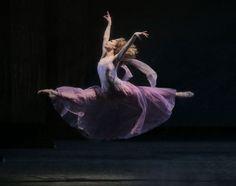 Sara Mearns in George Balanchine's Tschaikovsky Suite No. 3. © Paul Kolnik.