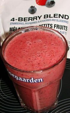 Magic Bullet Smoothie from Food.com: This is one of my favorite recipes out of the cookbook that came with my Magic Bullet blender. Of course you can make this in a regular blender as well.