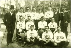 1900: No Olympic football uniform was complete without a 'stash - French Football team at Olympic Games