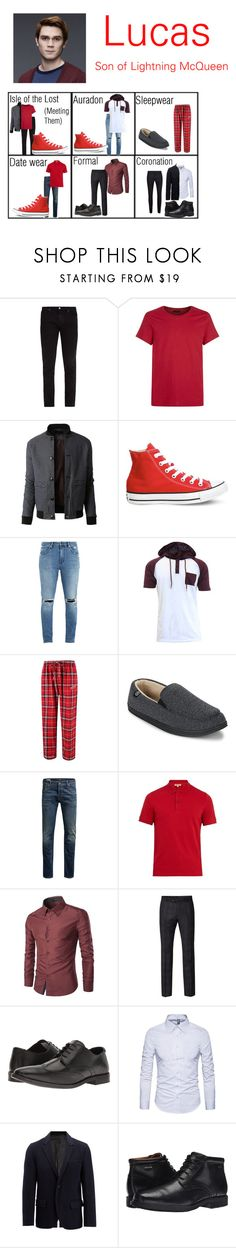 """""""Character 1 for Roleplay w/ @maxinehearts"""" by lay-under-starlight ❤ liked on Polyvore featuring Frame, J.Lindeberg, LE3NO, Converse, Neuw denim, Concepts Sport, Isotoner, Jack & Jones, Burberry and Ben Sherman"""