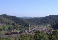 Passeio de trem turístico para Paranapiacaba-SP