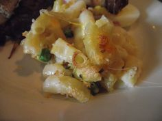 The Sailing Foodie took this photo of our macaroni and cheese...yum.