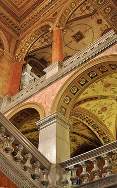 Budapest Opera House - find a way to turn this into an escher impossible architecture Great idea for photoshop aptitude project
