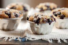 Muffins de arándanos - Maru Botana Molten Cake, Kitchen Recipes, Original Recipe, Plant Based Recipes, Tea Time, Sweet Treats, Food And Drink, Meals, Cooking