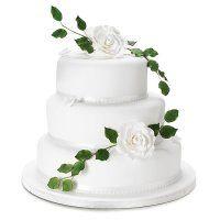 Wedding cake from Waitrose £239 bottom layer fruit, top 2 sponge. 85 -110.  25, 20, 15