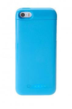 Blue iPhone Charger Case
