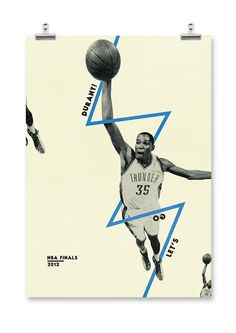 A series of posters for key players participating in the NBA Finals Miami Heat v Oklahoma Thunder Book Design, Layout Design, Design Art, Design Ideas, Sport Inspiration, Graphic Design Inspiration, Photomontage, Branding, Lettering