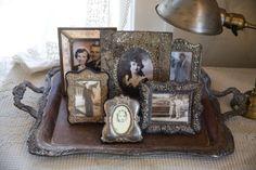 Vintage silver vignettes