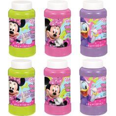 Minnie Mouse Bubbles 4oz 6ct - Bubble Toys - Summer Theme Party - Theme Parties - Categories - Party City