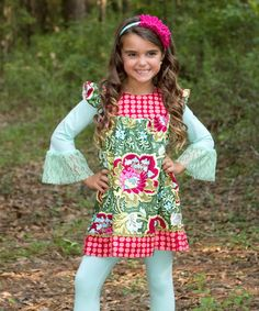 Olive Press Lily Love Dress - Toddler by Swanky Baby Vintage #zulily #zulilyfinds