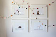 Nursery Animal Art Prints