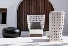 Armchair: CANASTA – Collection: B&B Italia Outdoor – Design: Patricia Urquiola