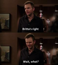 Community. - Britta's right
