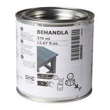 IKEA - BEHANDLA, Glazing paint, turquoise, , Makes the surface of untreated wood more durable. Studio Apartment Furniture, Retro Travel Trailers, Painting Ikea Furniture, Furniture Ideas, Beeswax Polish, Glaze Paint, Neutral, Ikea Home, Ikea Us