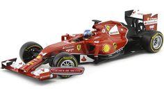 """2014.- SCUDERIA FERRARI F14-T """"#14 Fernando Alonso"""" (BLY67)."""