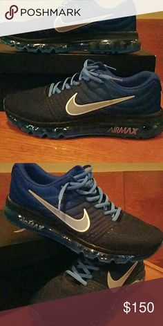 Nike Air Max 2017 Worn one time. Just a bit to small which is unfortunate. They are awesome Nike Shoes Athletic Shoes