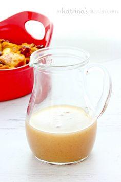 Pumpkin Spice Vanilla Butter Sauce Recipe- creamy and delicious
