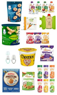 Do you feel like you're always on the lookout for new snacks for your infant or baby? These 12 Amazon must-have snack ideas will make life easy and have the best snack options on your doorstep in less than two days. These snacks are perfect for your 6-month-old or older! Even your toddler will enjoy these delicious and simple daily snack options for your children. Toddler Meals, Kids Meals, Arrowroot Biscuits, Whole Grain Flour, Food F, Muffin Mix, Broccoli Cheddar, Baby Led Weaning, Apple Slices