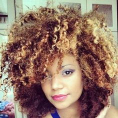 Natural hair and color