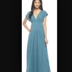 """Spotted while shopping on Poshmark: """"Merona maxi Orenge dress""""! #poshmark #fashion #shopping #style #Merona #Dresses & Skirts"""
