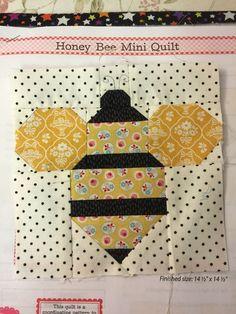https://s-media-cache-ak0.pinimg.com/236x/fd/2c/49... : bee quilt pattern - Adamdwight.com