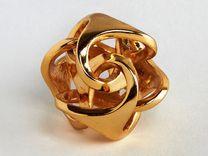 Ora Pendant - Gold Plated Brass