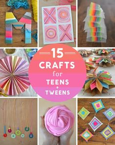 Inspirational 14 Crafts For Teens And Tweens Artbar - Property . Inspirational 14 Crafts For Teens And Tweens Artbar - Property fun diy crafts for tweens - Fun Diy Crafts Diy Crafts For Tweens, Teen Girl Crafts, Fun Diy Crafts, Diy And Crafts Sewing, Diy Crafts Videos, Craft Tutorials, Kids Crafts, Craft Projects, Paper Crafts