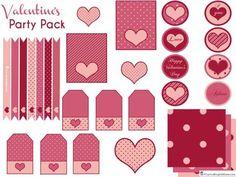 5 Imprimibles gratis para usar en San Valentín | Aprender manualidades es facilisimo.com