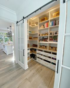 Kitchen Interior, Kitchen Decor, Kitchen Shelves, Kitchen Storage, Drawer Storage, Pantry Storage, Kitchen Pantry, Layout Design, Pantry Organization