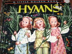 1947 The Little Golden Book of Hymns Religious by TheIDconnection, $15.00