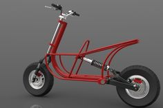 Electric motorbike - Chasis - Other - 3D CAD model - GrabCAD