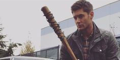 sam and dean winchester,memes. dad's on walking dead,,, I know! | The Walking Dead and Supernatural crossover fans need to see ...