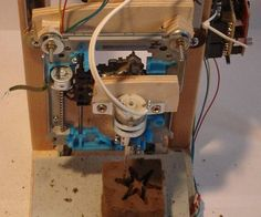 This instructable shows you how to build a cheap and easy, but very small CNC. You can use it to mill thin balsa wood and different foams. Everything you need, can be found in old PC's or can be bought quite cheap (I paid ~30$). It was inspired by the Pocket laser engraver, but i added a third axis and now I am able to mill small 3D objects.For this project you will need: 3 old CD/DVD-Roms 1 Computer power supply 1 PC fan 1 small DC motor 3 Easydriver boards (can be bought on ebay ~2$ each)…