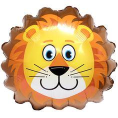 lion balloons | Lovable Lion SuperShape Foil Balloon